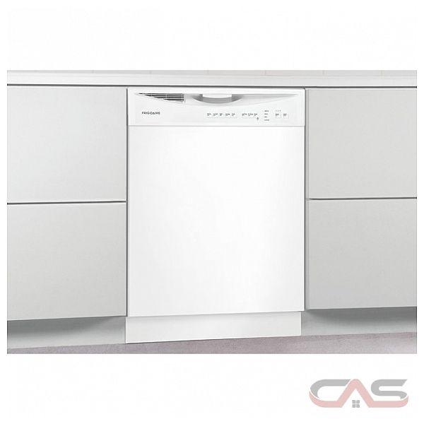 frigidaire ffbd2411nw lave vaisselle 24 largeur ext rieure 5 cycles de lavage 2 paniers de. Black Bedroom Furniture Sets. Home Design Ideas