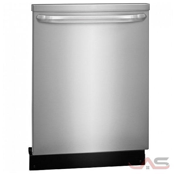 frigidaire ffid2423rs lave vaisselle 24 largeur ext rieure 4 cycles de lavage 2 paniers de. Black Bedroom Furniture Sets. Home Design Ideas