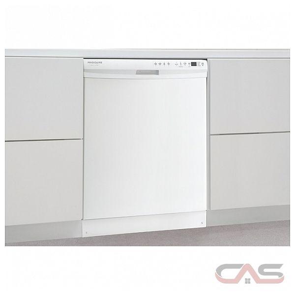 frigidaire gallery fgbd2445nw lave vaisselle 24 po 4 cycles de lavage 2 paniers de chargement. Black Bedroom Furniture Sets. Home Design Ideas