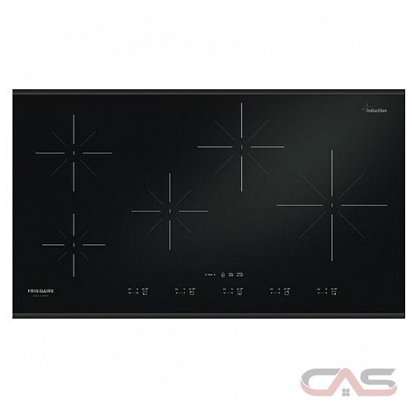 Frigidaire gallery fgic3667mb table de cuisson induction de 36 39 39 meilleur prix et - Difference induction vitroceramique ...