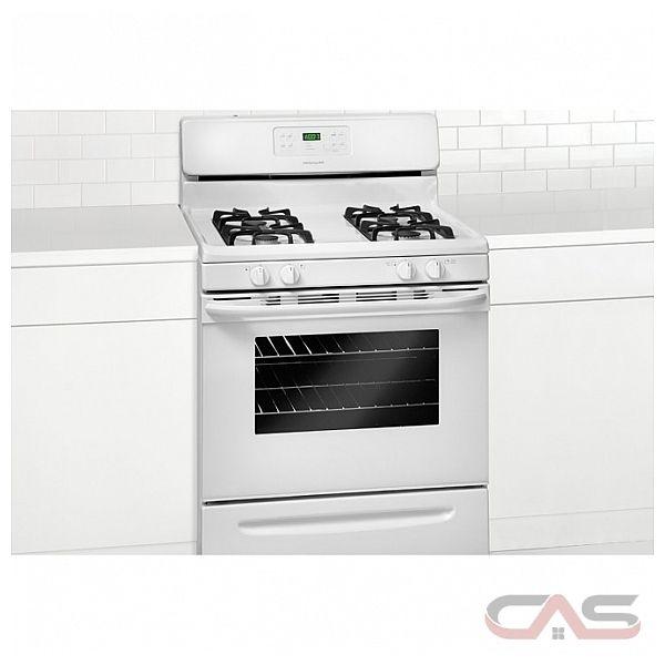 frigidaire ffgf3023lw cuisini re cuisini re au gaz 30 po autonettoyant 4 nombre de br leurs. Black Bedroom Furniture Sets. Home Design Ideas