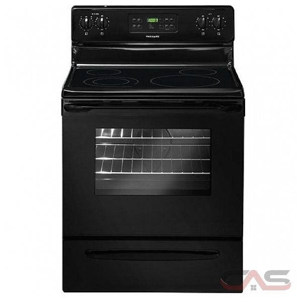frigidaire cfef3018lb cuisini re cuisini re lectrique 30 po autonettoyant 4 nombre de. Black Bedroom Furniture Sets. Home Design Ideas