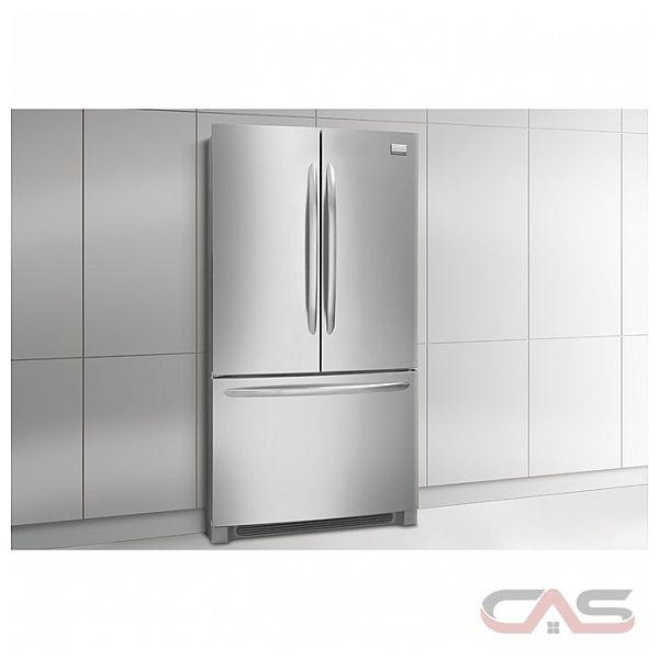 Frigidaire Gallery Fghg2366pf French Door Refrigerator 36