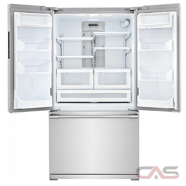 r frig rateur porte fran aise frigidaire professional fpbg2277rf frigo 36 po distributeur. Black Bedroom Furniture Sets. Home Design Ideas