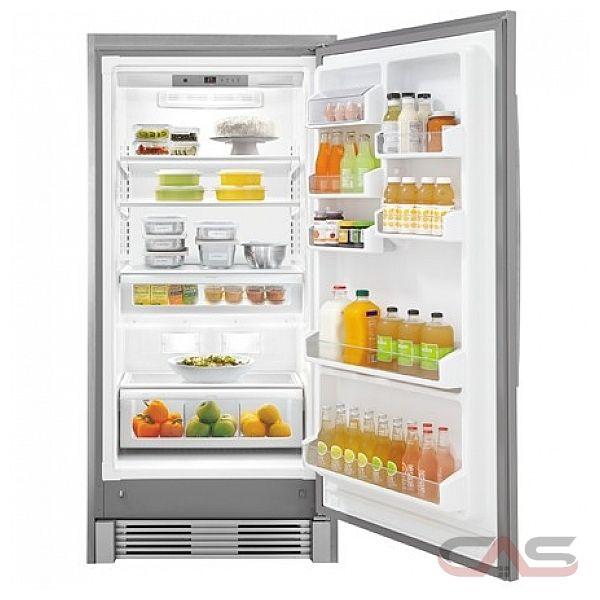 Frigidaire Gallery Fgru19f6qf Refrigerator Canada Best