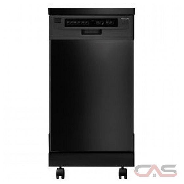 Frigidaire ffpd1821mb dishwasher canada best price - Portable dishwasher stainless steel exterior ...