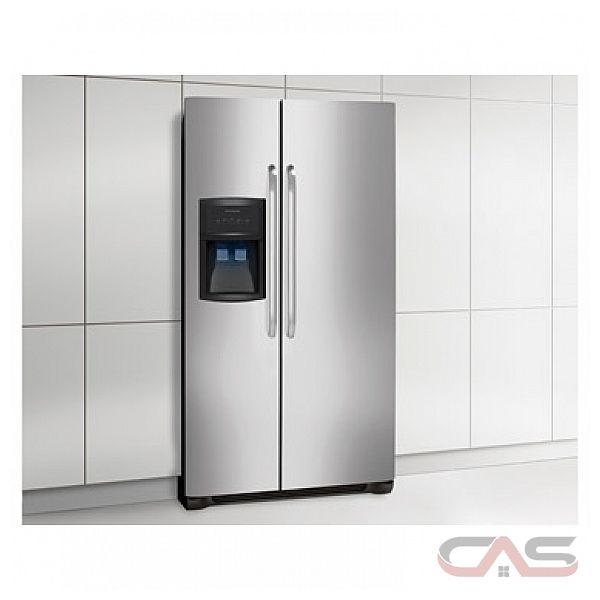 frigidaire ffhs2322ms r frig rateur c te c te frigidaire de 22 1 pi cu meilleur prix et. Black Bedroom Furniture Sets. Home Design Ideas