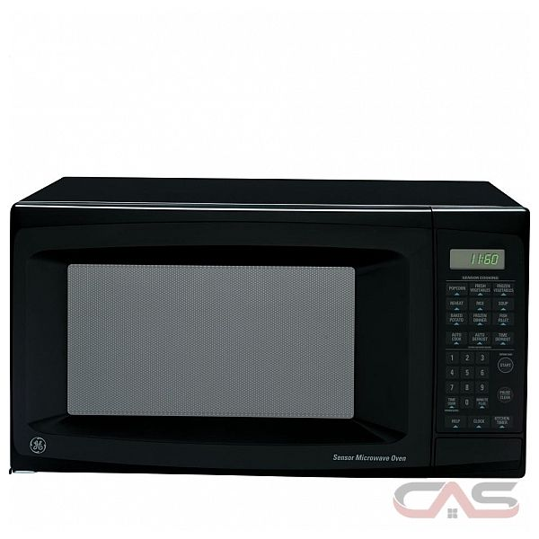 GE JE1160BD Mid-Size Countertop Microwave Oven, Sensor Cooking ...