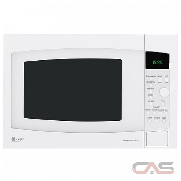 GE JE1590WH 1.5 cu. ft. Countertop Microwave With 1000 Cooking Watts ...