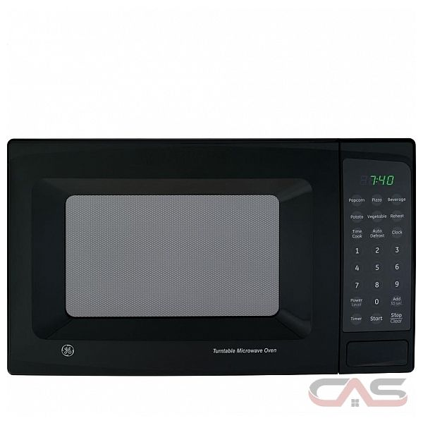 GE JE740BK .7 Cu. Ft. Capacity Countertop Microwave Oven - Best Price ...