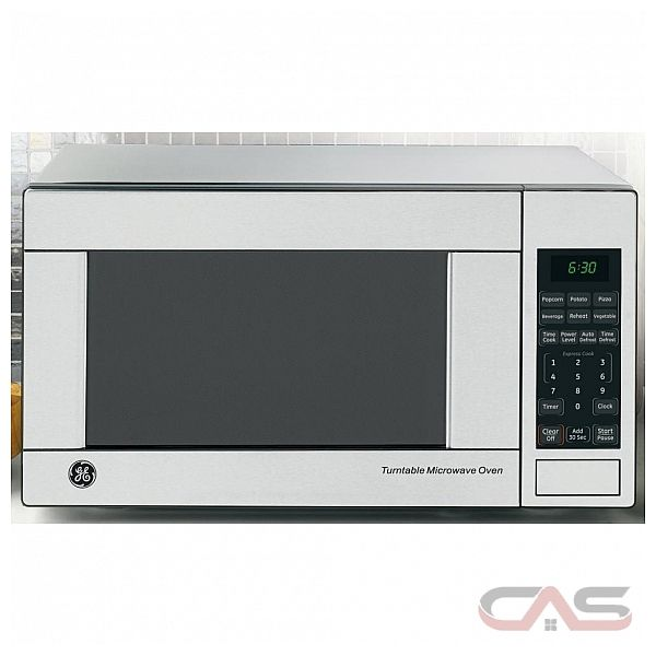 GE JES1140STC Countertop Microwave, 21 1/4in, 1.1 cu.ft, with Child Lock-Out, Cooking Complete Reminder and 10 Power Levels
