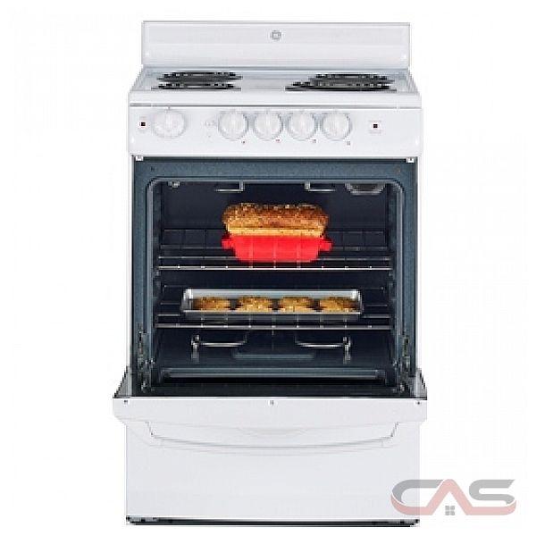 ge jcas724hww cuisini re lectrique de 24 po avec four. Black Bedroom Furniture Sets. Home Design Ideas