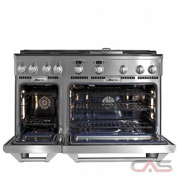 ge monogram zgp486ndrss cuisini re professionnelle de 48. Black Bedroom Furniture Sets. Home Design Ideas