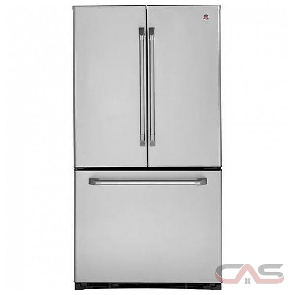 Ge cafe cfcp1nizss counter depth french door refrigerator 36in 20 8