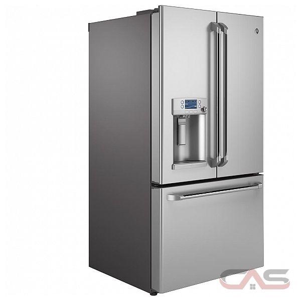 Ge cafe cfe28tshss r frig rateur avec porte deux - Refrigerateur distributeur de glacon 1 porte ...