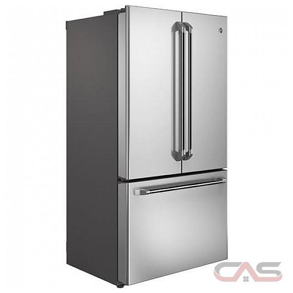 Ge cafe cwe23sshss r frig rateur avec porte deux - Refrigerateur distributeur de glacon 1 porte ...