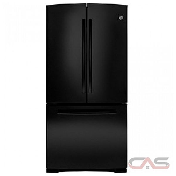 GE GNR22DGEFBB French Door Refrigerator, 33