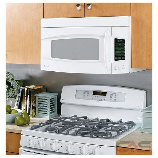 Amana 2 0 cu ft over the range microwave in white with sensor - Ge Profile Spacemaker Pvm2070dmww Over The Range Microwave