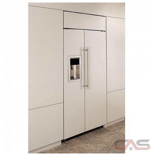 r frig rateur c te c te monogram zisb360dh frigo 36 groupe de largeur distributeur dans la. Black Bedroom Furniture Sets. Home Design Ideas