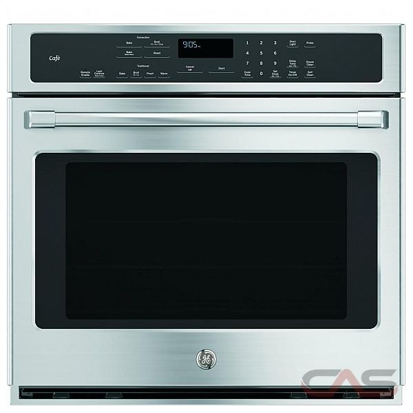 Ge Cafe Ct9050shss Single Wall Oven 30 Exterior Width