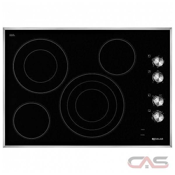 30 Inch Glass Cooktop ~ Jenn air jec bs cooktop electric inch
