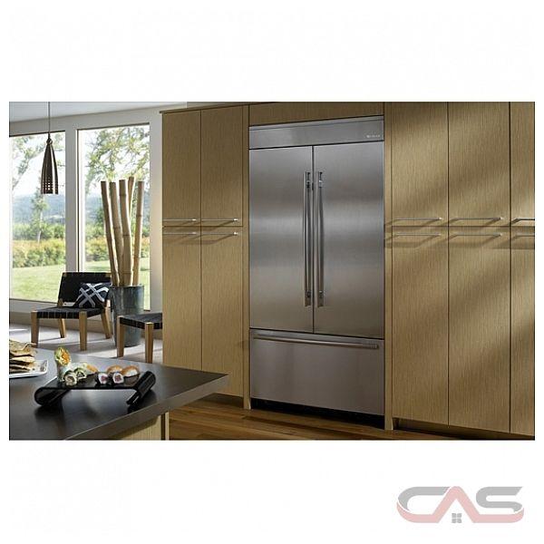 """Jenn Air JF42NXFXDW 42"""" Fully Integrated Built-In French Door ..."""