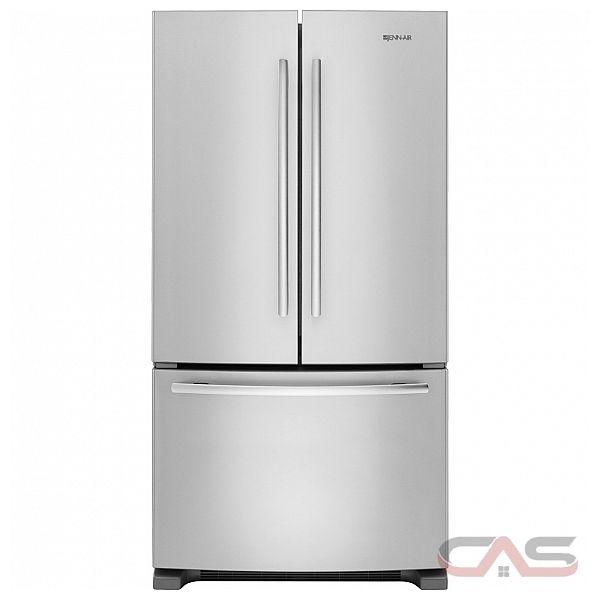 Jenn Air Jfc2089bem French Door Refrigerator 36 Width Freezer Located Ice Dispenser Energy