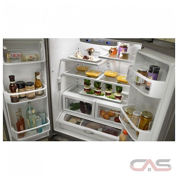 Jenn air jfc2290vpf refrigerator canada best price for Jenn air floating glass refrigerator
