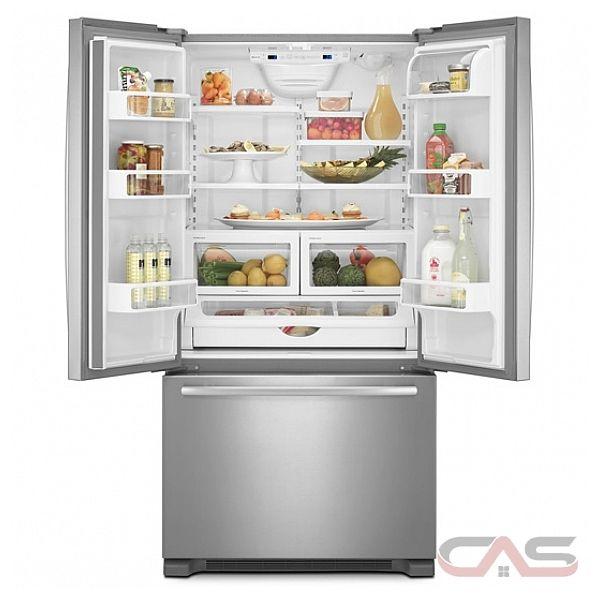Jenn air jfc2290vpf refrigerator canadian appliance for Jenn air floating glass refrigerator