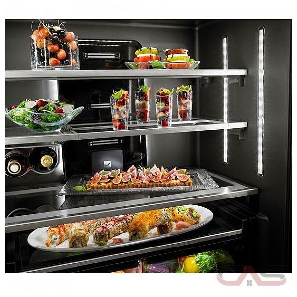 "Jenn Air Counter Depth Refrigerator French Door: Jenn-Air JFFCC72EFS French Door Refrigerator, 36"" Width"