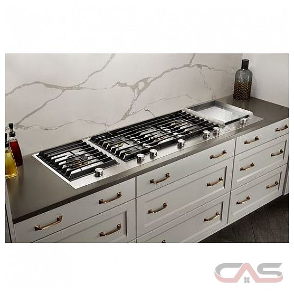 Picture Of Under Cooktop Kitchen Drawers: JGC3536GS Jenn-Air Cooktop Canada