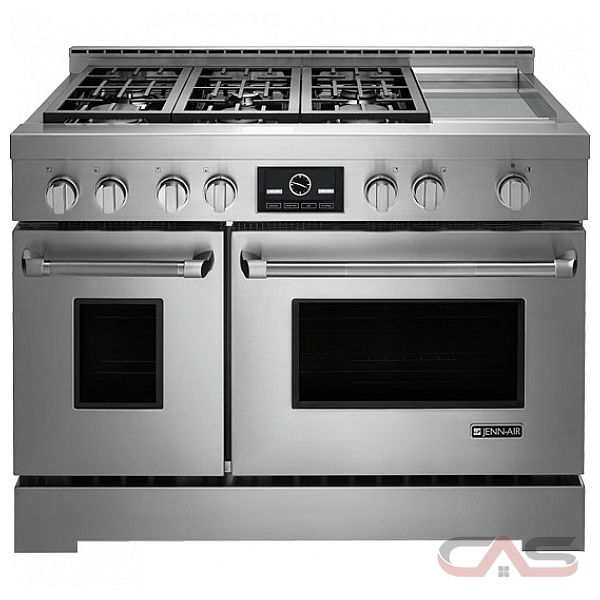 jenn air jlrp548wp range liquid propane gas range 48 inch self