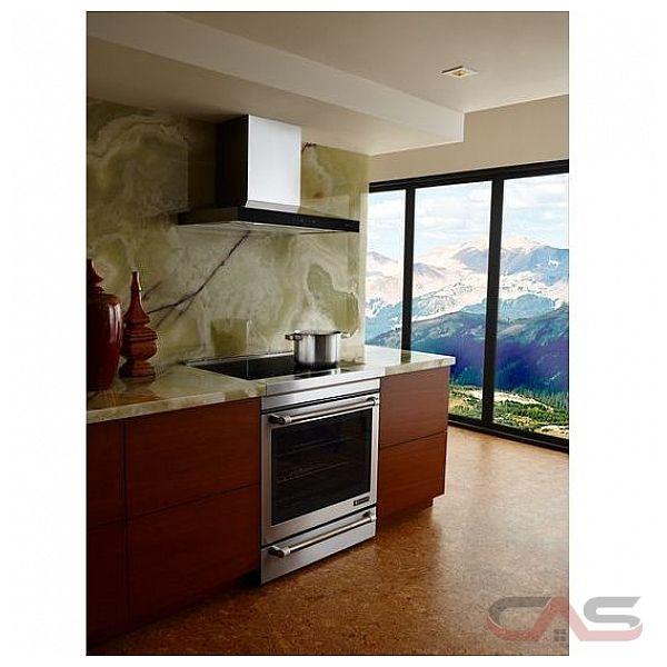 jenn air jxw8530ds hotte 30 largeur ext rieure chemin e convient aux deux del 600 cfm. Black Bedroom Furniture Sets. Home Design Ideas