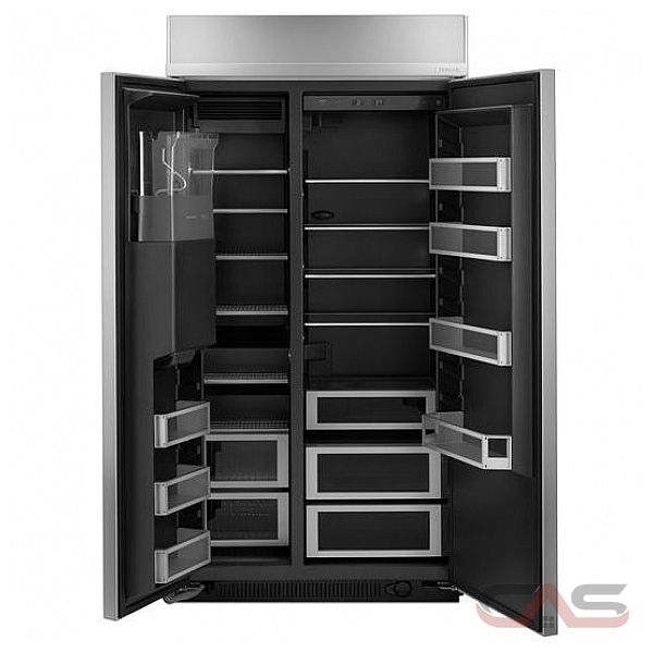 Jenn Air Js42ppdude Side By Side Refrigerator 42 Quot Width