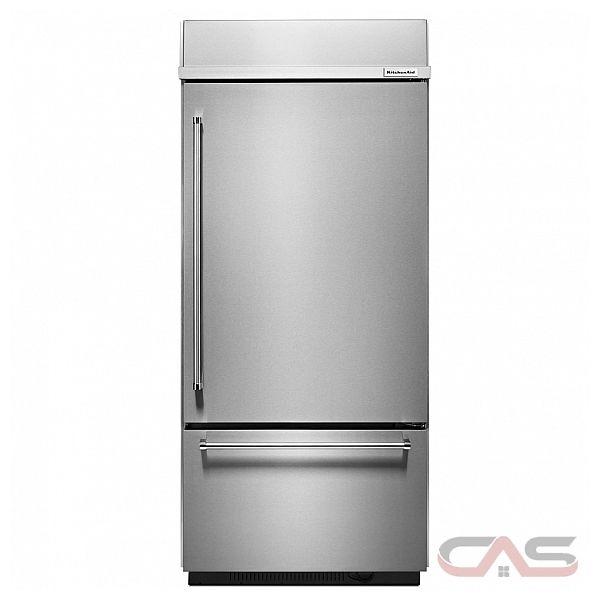 Kitchenaid Built In Bottom Freezer Refrigerator: KBBL206EPA KitchenAid Refrigerator Canada