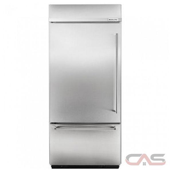 Kitchenaid Built In Bottom Freezer Refrigerator: KBBL206ESS KitchenAid Refrigerator Canada