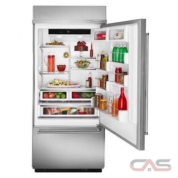 Kitchenaid Built In Bottom Freezer Refrigerator: KitchenAid KBBR206ESS Refrigerator Canada