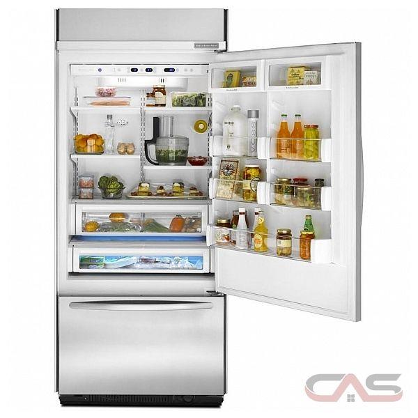 Kitchenaid Built In Bottom Freezer Refrigerator: KitchenAid KBRC36FTS Refrigerator Canada