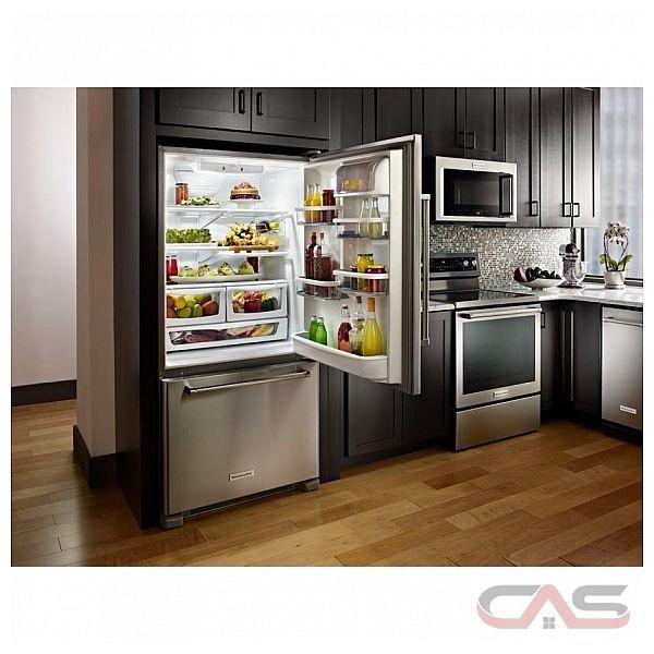 Krbr102ess Kitchenaid Refrigerator Canada Best Price Reviews And Specs Toronto Ottawa