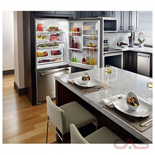 Kitchenaid Krbr102ess Refrigerator Canada Best Price