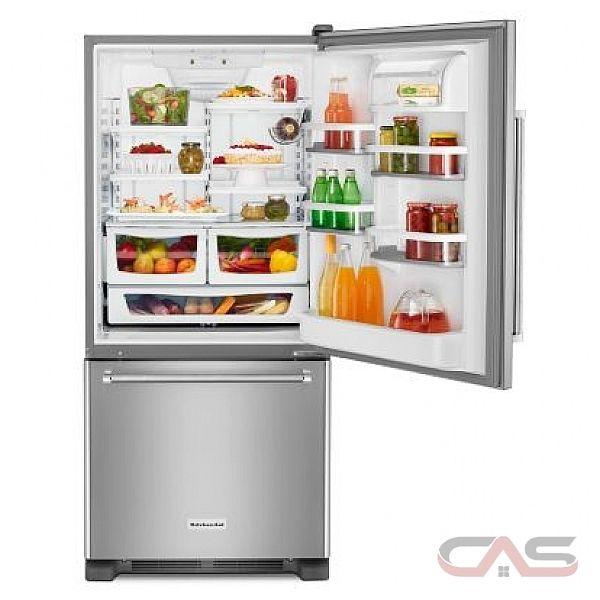 Krbr109ess Kitchenaid Refrigerator Canada Best Price