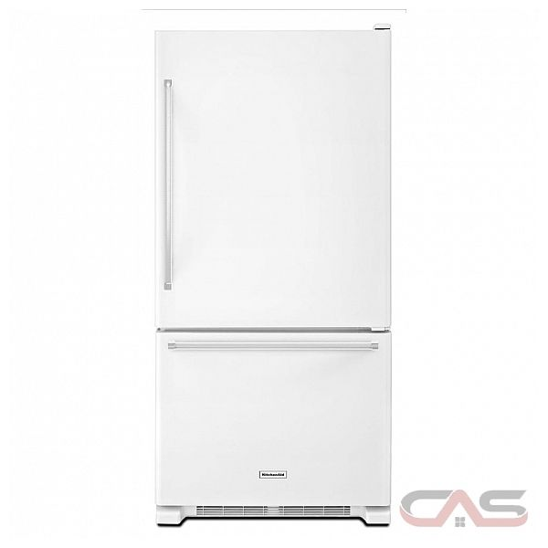 kitchenaid krbx109ebl bottom mount refrigerator 30 width optional