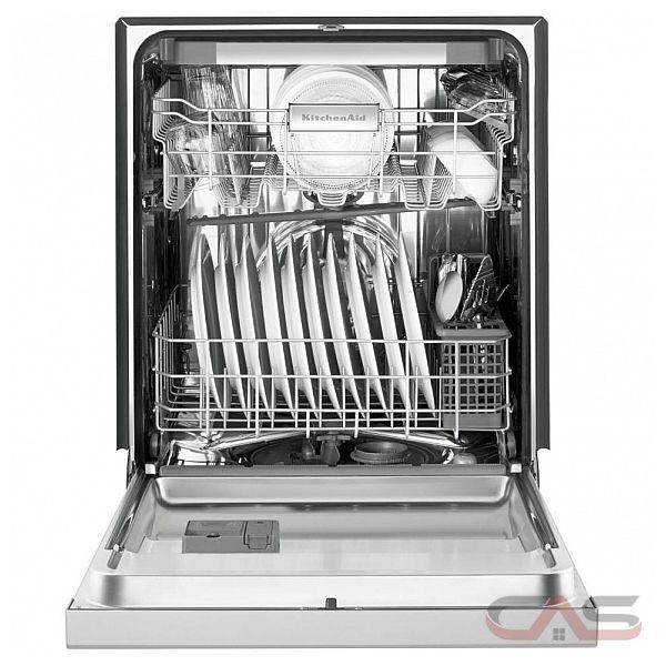 kitchenaid kdfe204ebl built in undercounter dishwasher 24