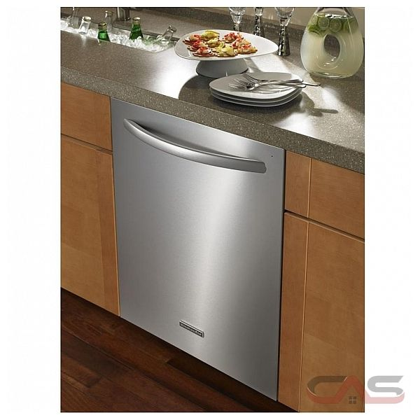 Best Rated Kitchen Appliances: KDTE104DSS KitchenAid Dishwasher Canada
