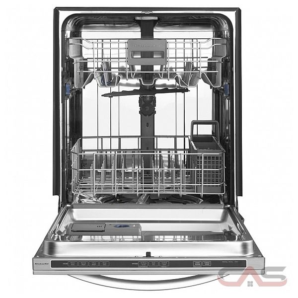 kitchen aid kudc10fxbl dishwasher fully integrated 24in w