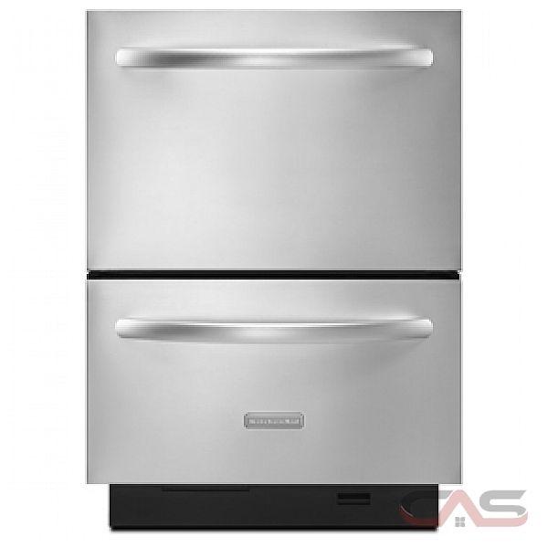 Kudd03dtss kitchenaid dishwasher canada best price - Portable dishwasher stainless steel exterior ...