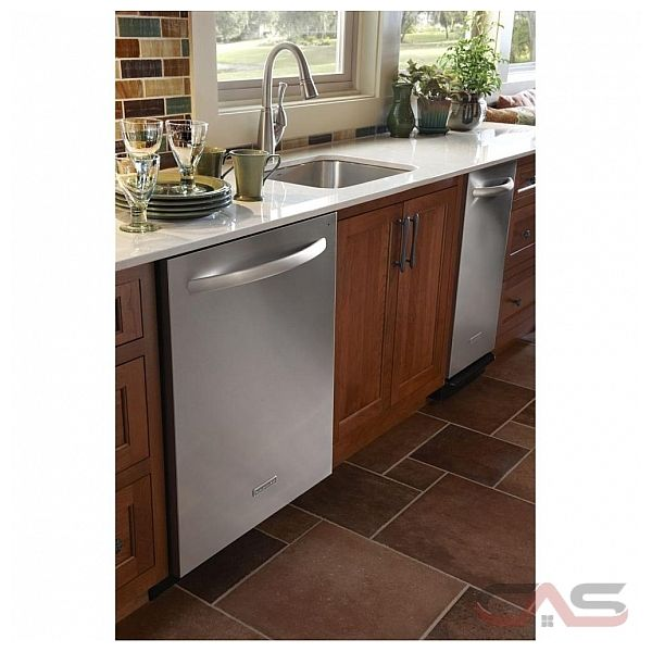 Kitchenaid Whisper Quiet Dishwasher: KitchenAid KUDS30FXSS Dishwasher Canada