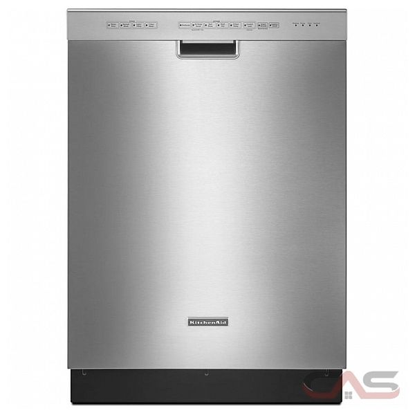The KDTEGPS is an upper-middle level dishwasher manufactured by KitchenAid, a premium brand owned by Whirlpool Corporation, the largest appliance manufacturer in the US. Like most KitchenAid products, it is characterized by a heavy-duty appearance and distinctive design cues/
