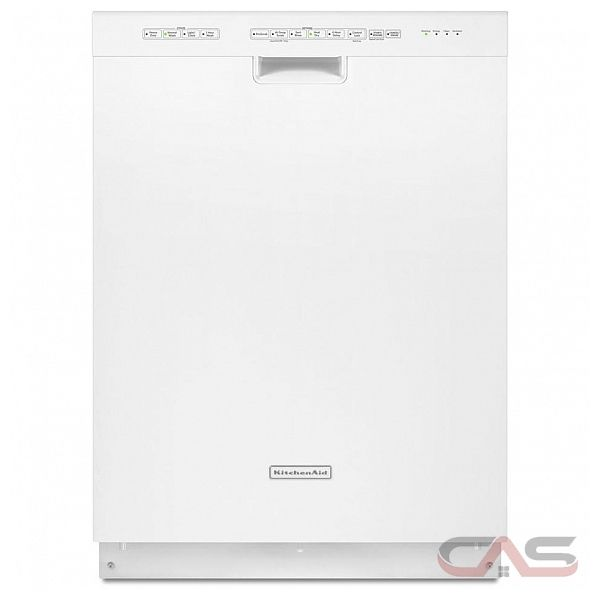 Kitchenaid Whisper Quiet Dishwasher: KitchenAid KUDS30IXWH Dishwasher Canada