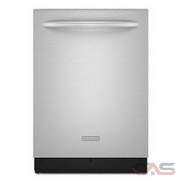 Kitchenaid Whisper Quiet Dishwasher: KitchenAid KUDT03FTSS Dishwasher Canada